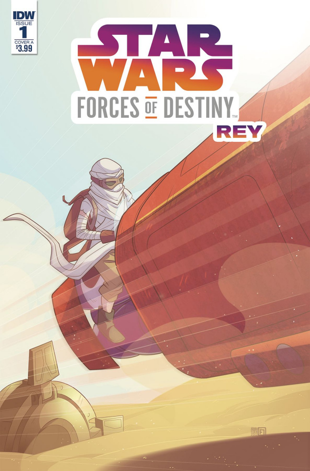 Star Wars Adventures: Forces of Destiny - Rey