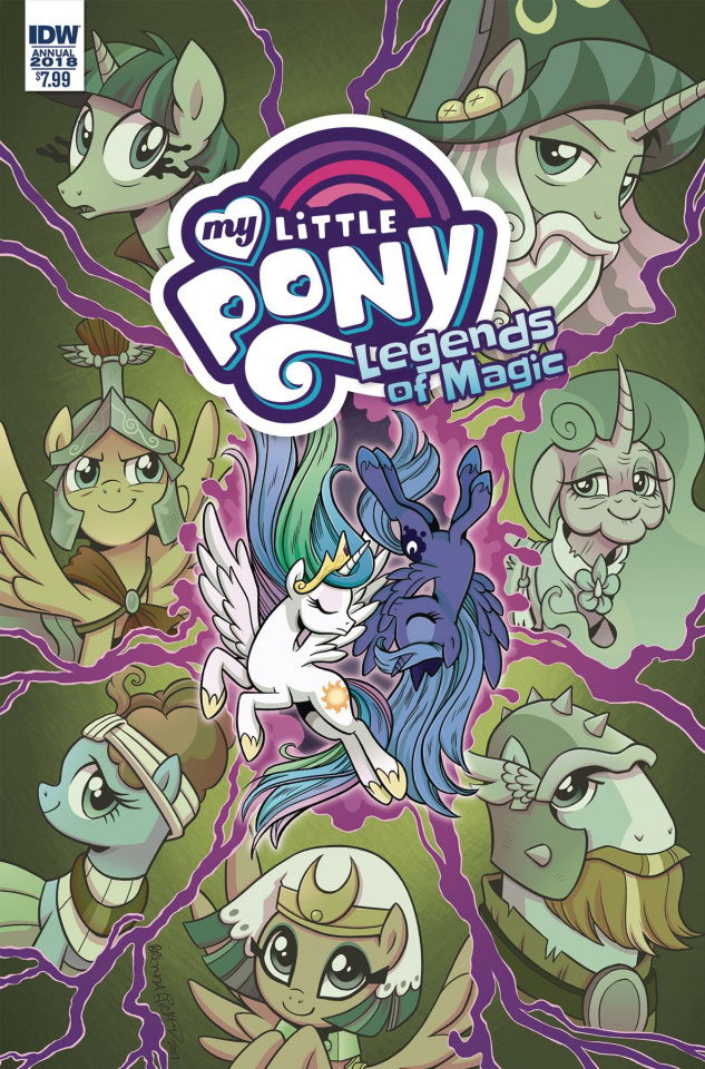 My Little Pony: Legends of Magic Annual 2018