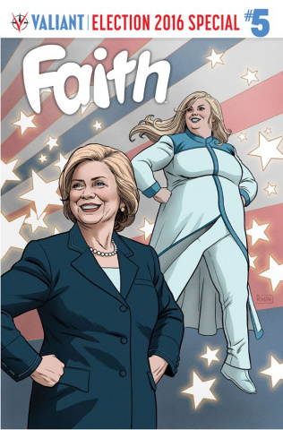 Faith #5 (Rivera Cover)