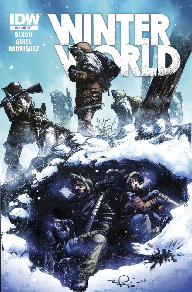 Winterworld #4 (Subscription Cover)
