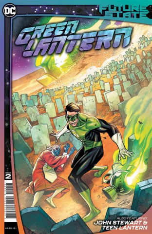 Future State: Green Lantern #2 (Clayton Henry Cover)
