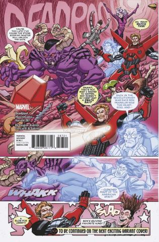 The Despicable Deadpool #287 (Koblish Secret Comic Cover)