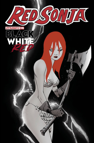 Red Sonja: Black, White, Red #5 (Lee Cover)