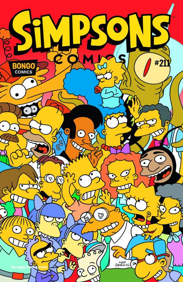 Simpsons Comics #211