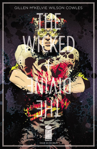 The Wicked + The Divine #40 (Roe Cover)