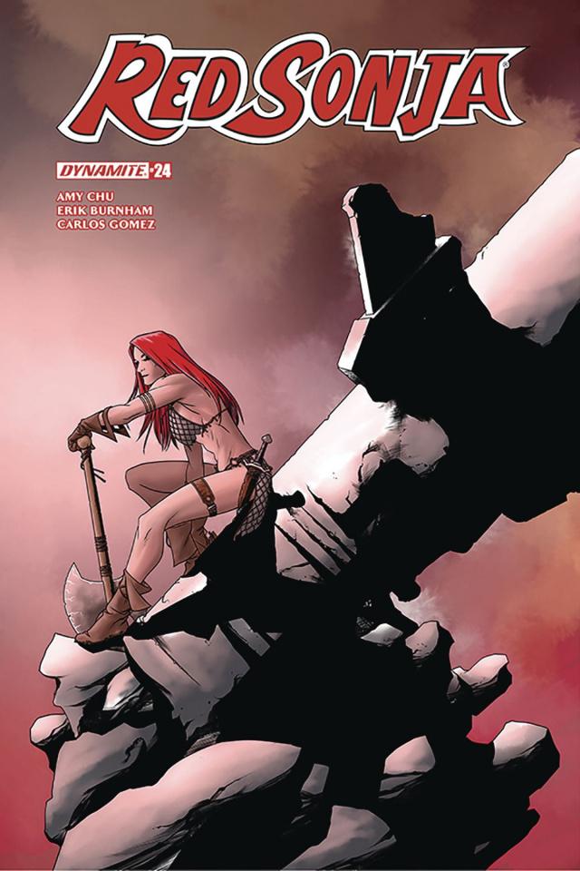 Red Sonja #24 (McKone Cover)