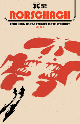 Rorschach #2 (Jorge Fornes Cover)