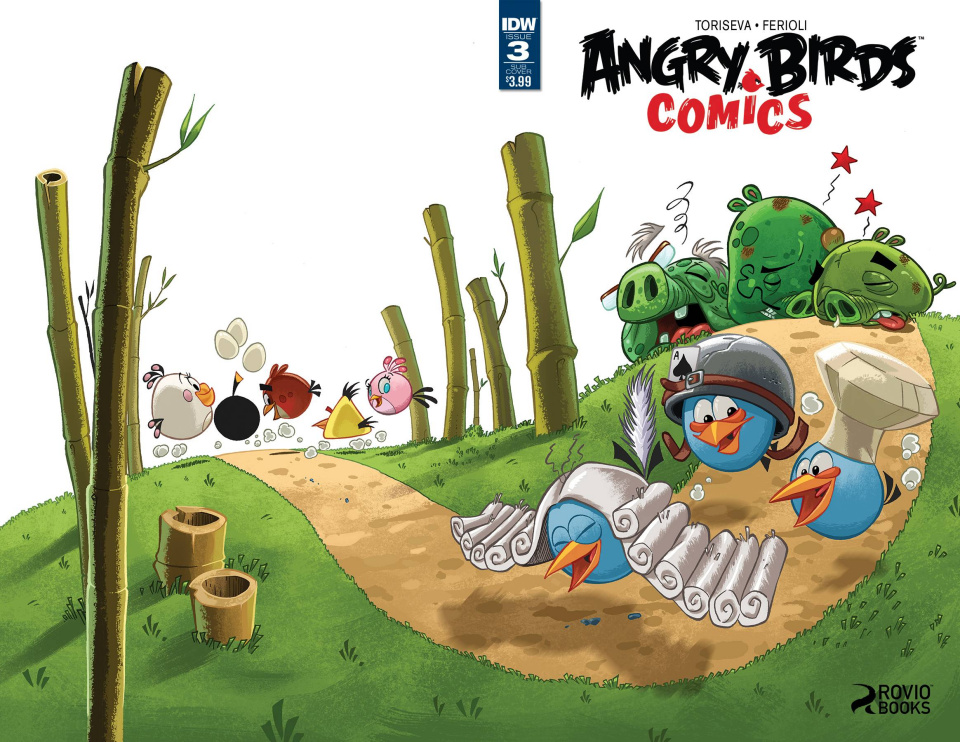 Angry Birds Comics #3 (Subscription Cover)