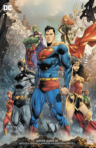 Justice League #38 (Variant Cover)