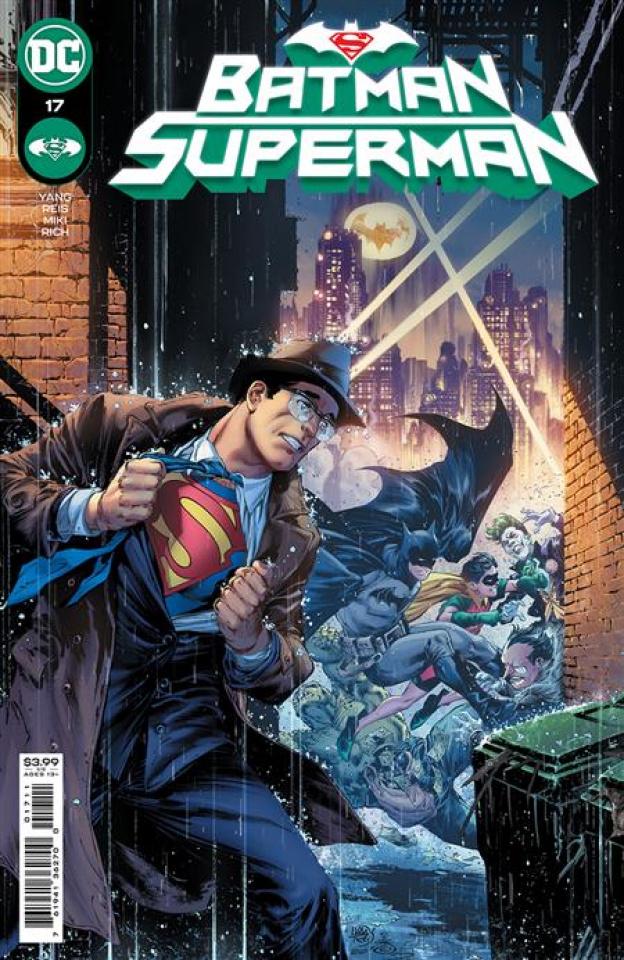 Batman / Superman #17 (Ivan Reis & Danny Miki Cover)