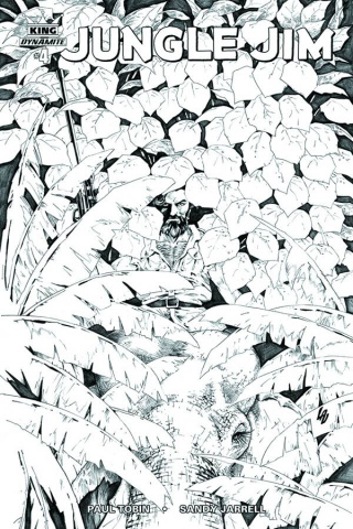 Jungle Jim #4 (10 Copy Lau B&W Cover)