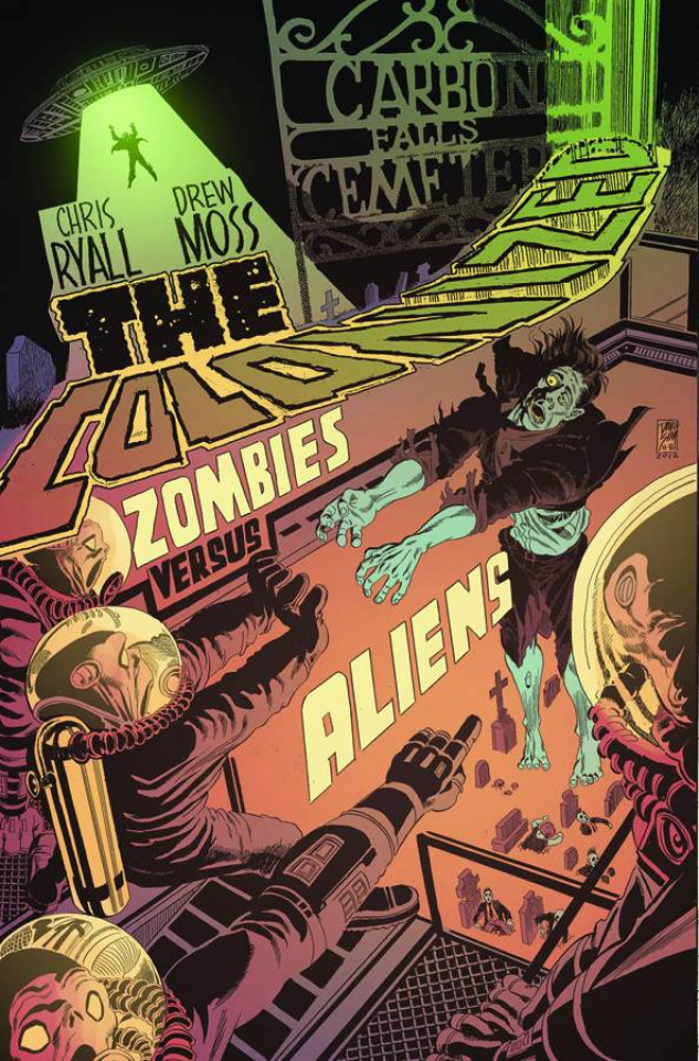 The Colonized #1 (10 Copy Cover)