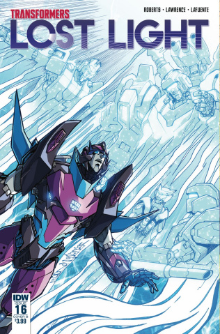 The Transformers: Lost Light #16 (Milne Cover)