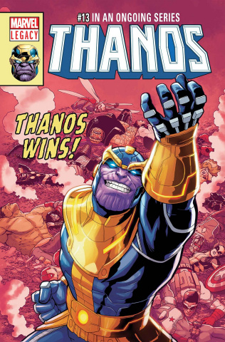 Thanos #13 (Burrows Cover)