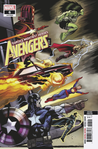 Avengers #6 (McGuinness 2nd Printing)