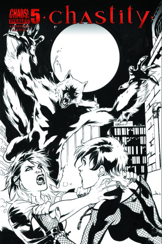 Chastity #5 (10 Copy Lupacchino B&W Cover)
