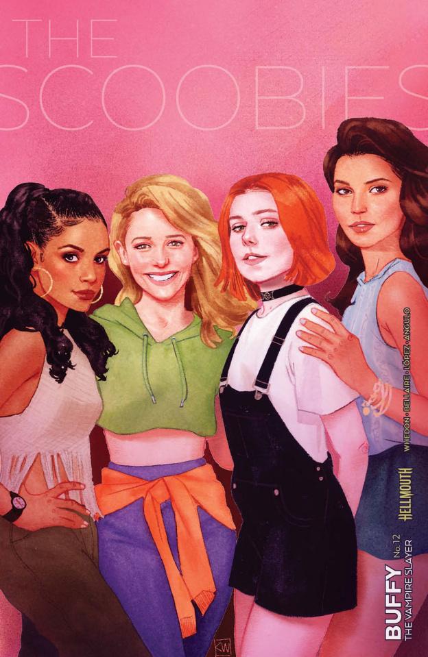 Buffy the Vampire Slayer #12 (Wada Cover)