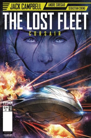 The Lost Fleet: Corsair #2 (Laming Cover)