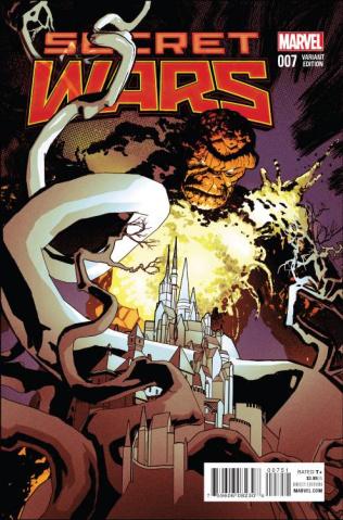 Secret Wars #7 (Classic Cover)