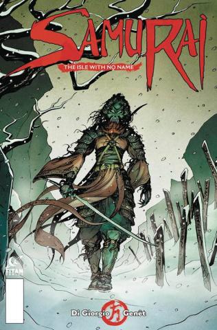 Samurai #3 (Genet Cover)
