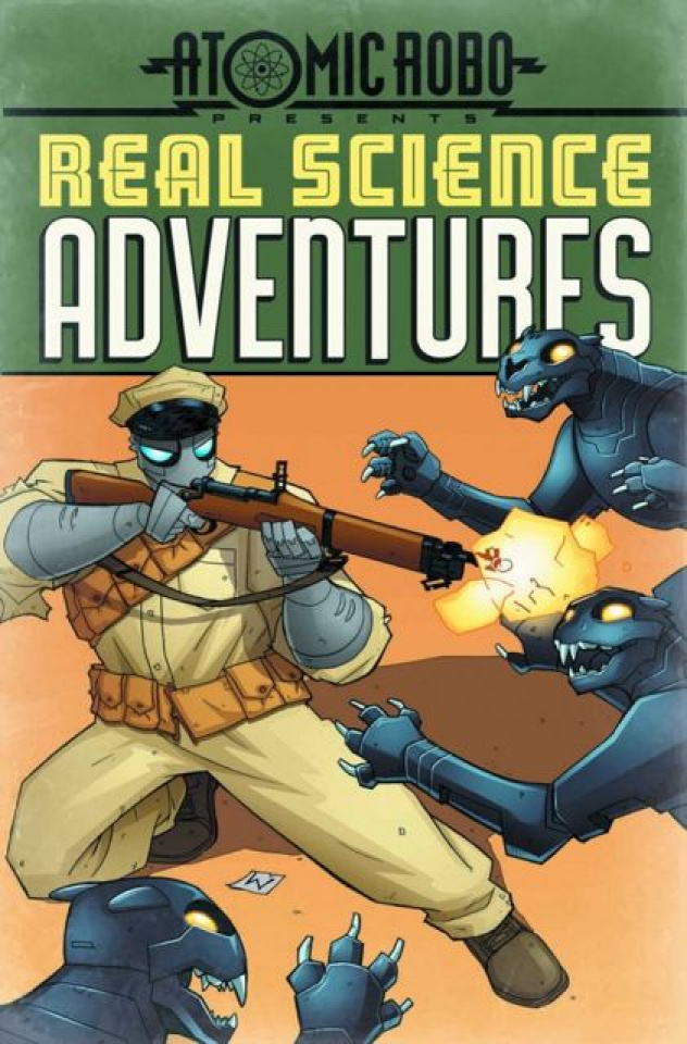 Atomic Robo: Real Science Adventures #2