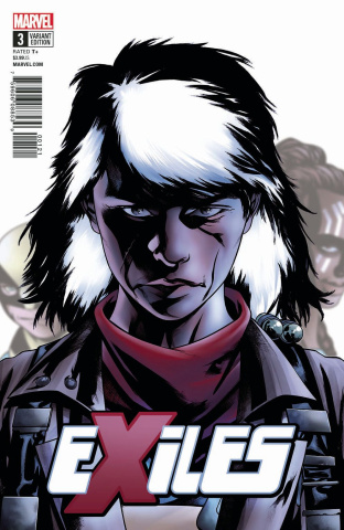 Exiles #3 (McKone Character Cover)