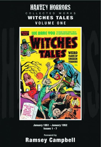 Harvey Horrors Vol. 1: Witches Tales