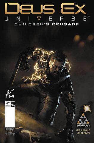Deus Ex #4 (Bennett Cover)