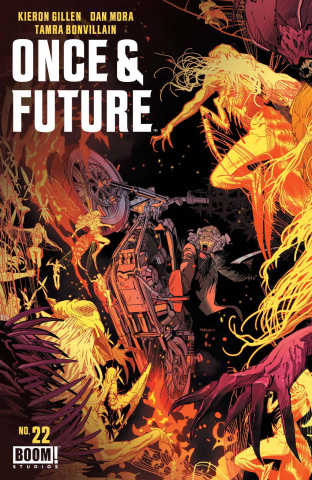 Once & Future #22 (Mora Cover)