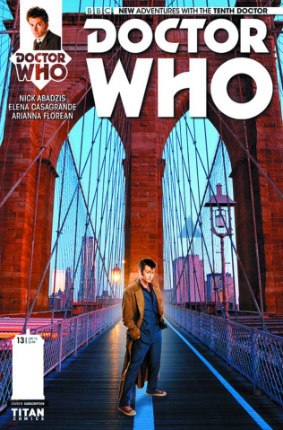 Doctor Who: New Adventures with the Tenth Doctor #13 (Subscription Photo Cover)