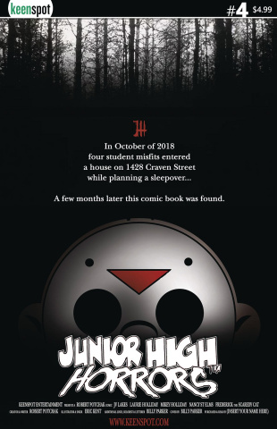 Junior High Horrors #4 (Blair Witch Cover)