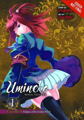 Umineko: When They Cry Ep. 4, #1: Alliance of the Golden Witch