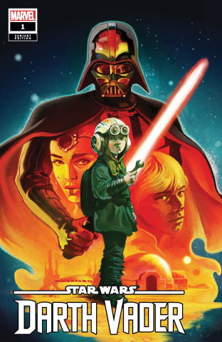Star Wars: Darth Vader #1 (Del Mundo Cover)