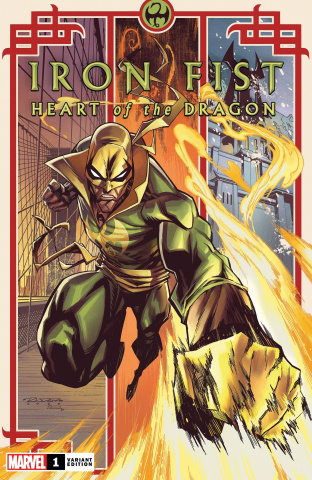 Iron Fist: Heart of the Dragon #1 (Randolph Cover)