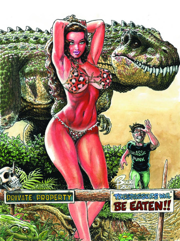 Cavewoman / Raptorella #2 (Root Cover)