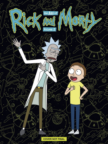 The Art of Rick and Morty Vol. 2 (Deluxe Edition)