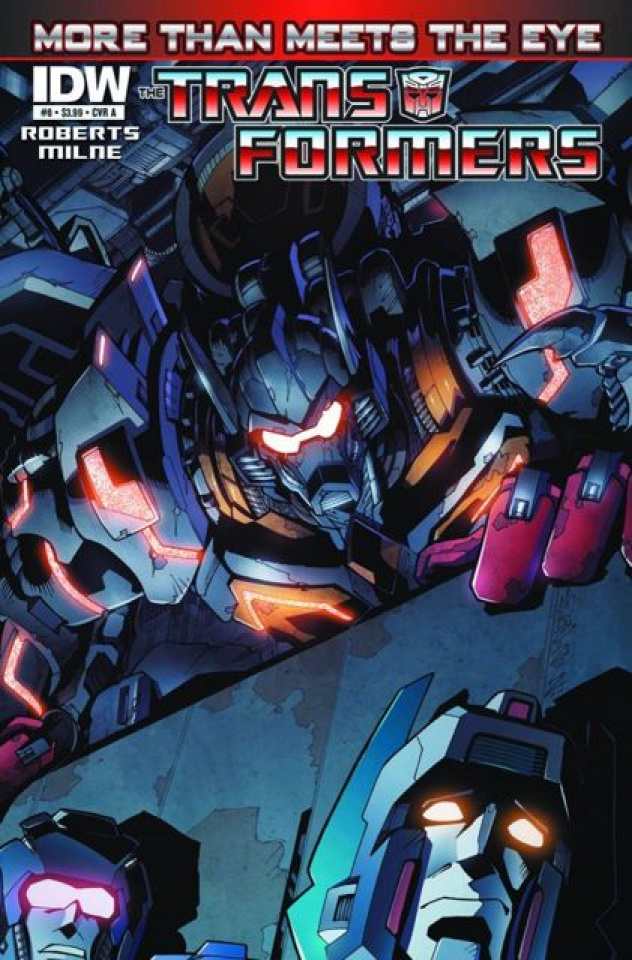 The Transformers: More Than Meets the Eye #8