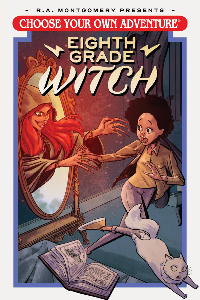 Choose Your Own Adventure: Eighth Grade Witch