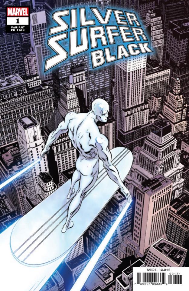 Silver Surfer: Black #1 (Zeck Hidden Gem Cover)