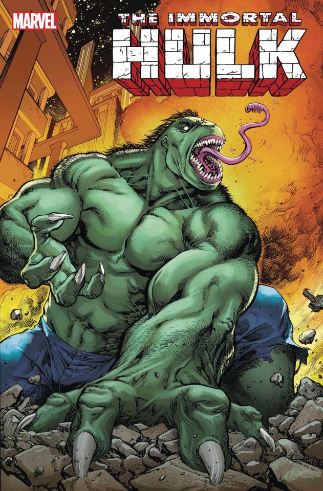The Immortal Hulk #27 (Raney 2099 Cover)