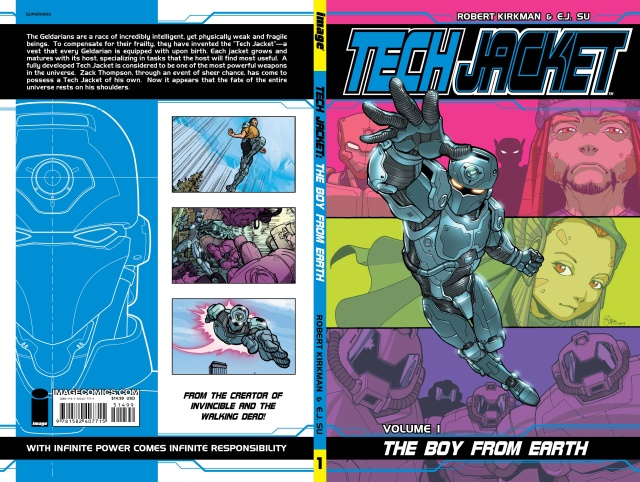Tech Jacket Vol. 1: The Boy from Earth