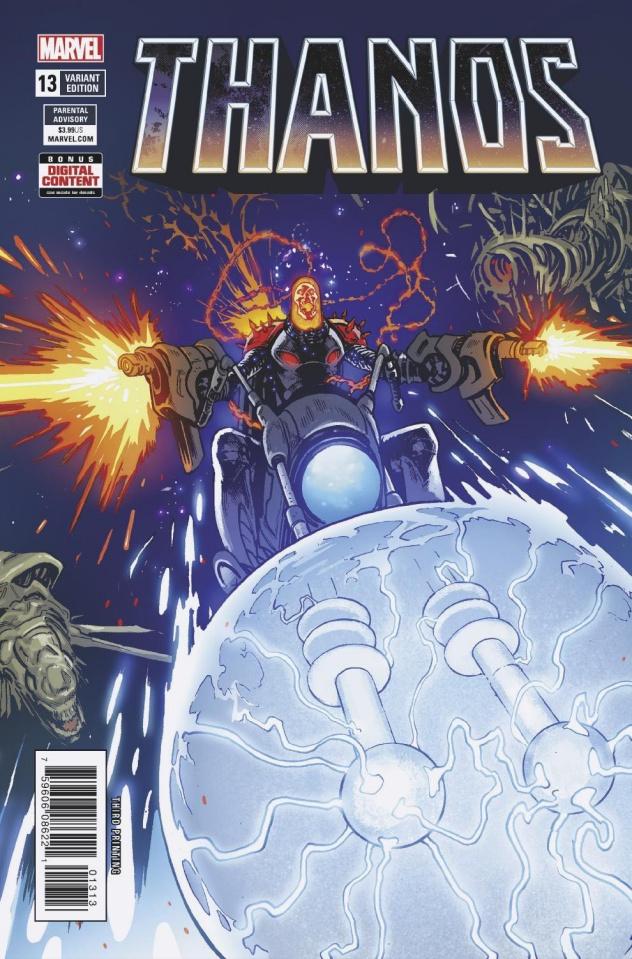 Thanos #13 (3rd Printing)