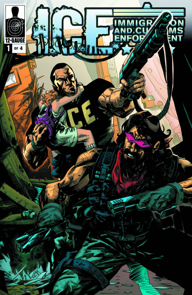 I.C.E.: Critical Mass #1 (10 Copy Cover)
