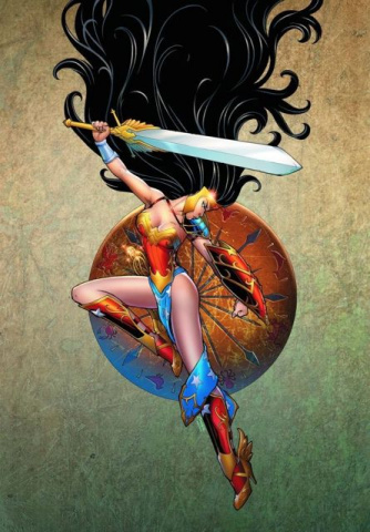 Ame Comi Girls #1 (Wonder Woman)