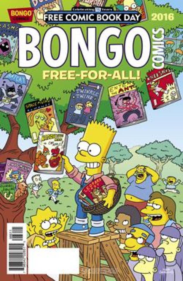 Bongo Comics Free-For-All! (FCBD 2016 Edition)