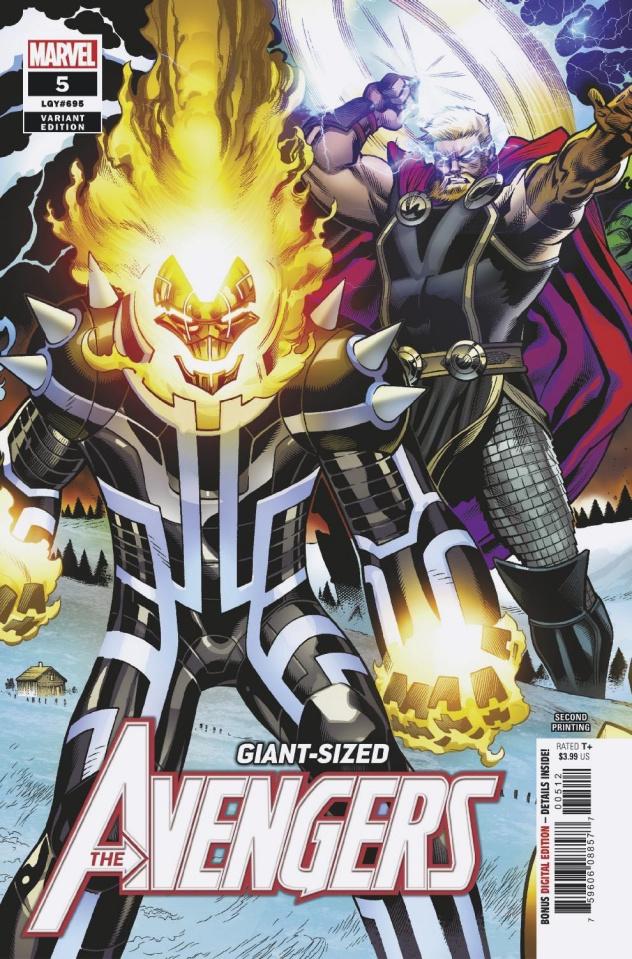 Avengers #5 (Medina 2nd Printing)