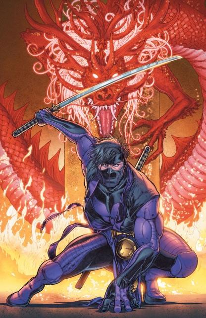 Ninjak #26 (Ryp Cover)