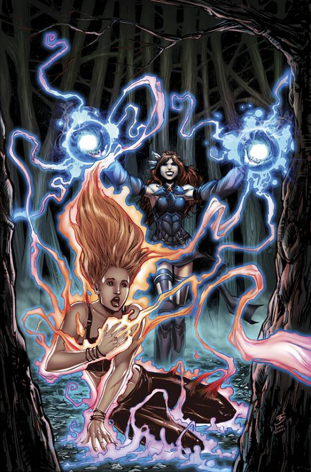 Grimm Fairy Tales: The Coven #5 (Brescini Cover)