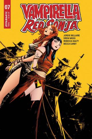 Vampirella / Red Sonja #7 (21 Copy Lee Yellow Cover)