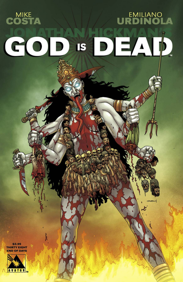 God Is Dead #38 (End of Days Cover)